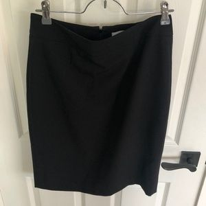 Calvin Klein Black Pencil Skirt sz 2